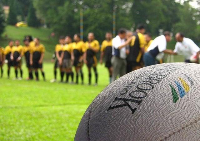 Rugby Ball by U ncle Saiful