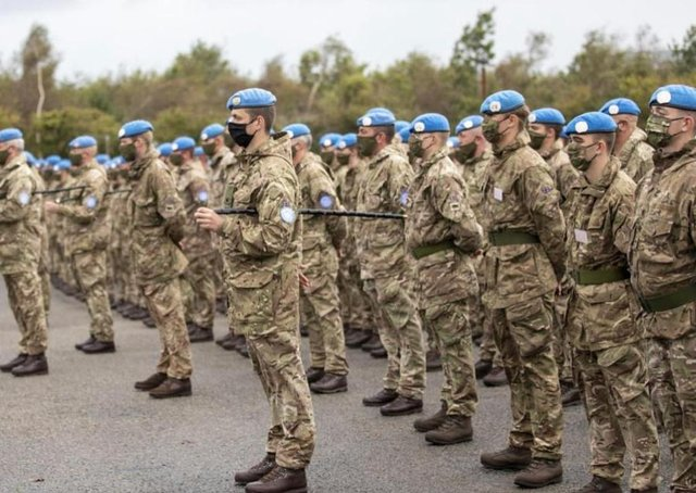 2 Royal Irish who have recently returned to Northern Ireland from a deployment in Cyprus