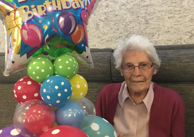 Margaret Wilkinson will be 100 on Friday