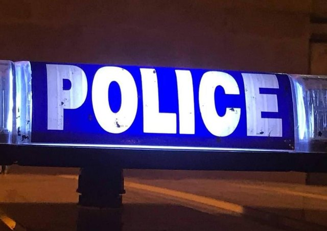 Police are appealing for information about Saturday night's incident