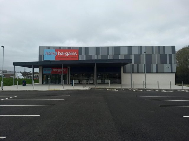New £1m Home Bargains store in Magherafelt.