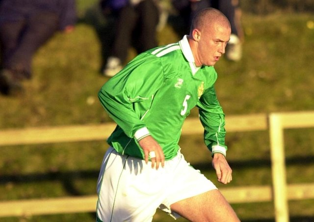 Joe Dolan played six times at U21 level for Northern Ireland and also earned five U18 caps.