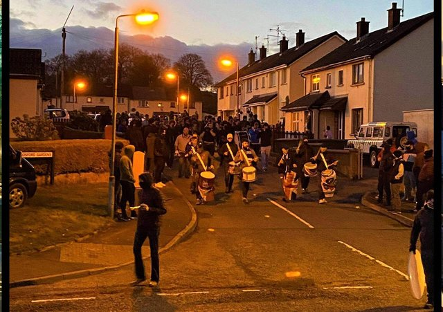 An un-notified band parade on Monday in Markethill (there is no suggestion the Orange Order organised this parade, which was said to have involved musicians from an array of different outfits)
