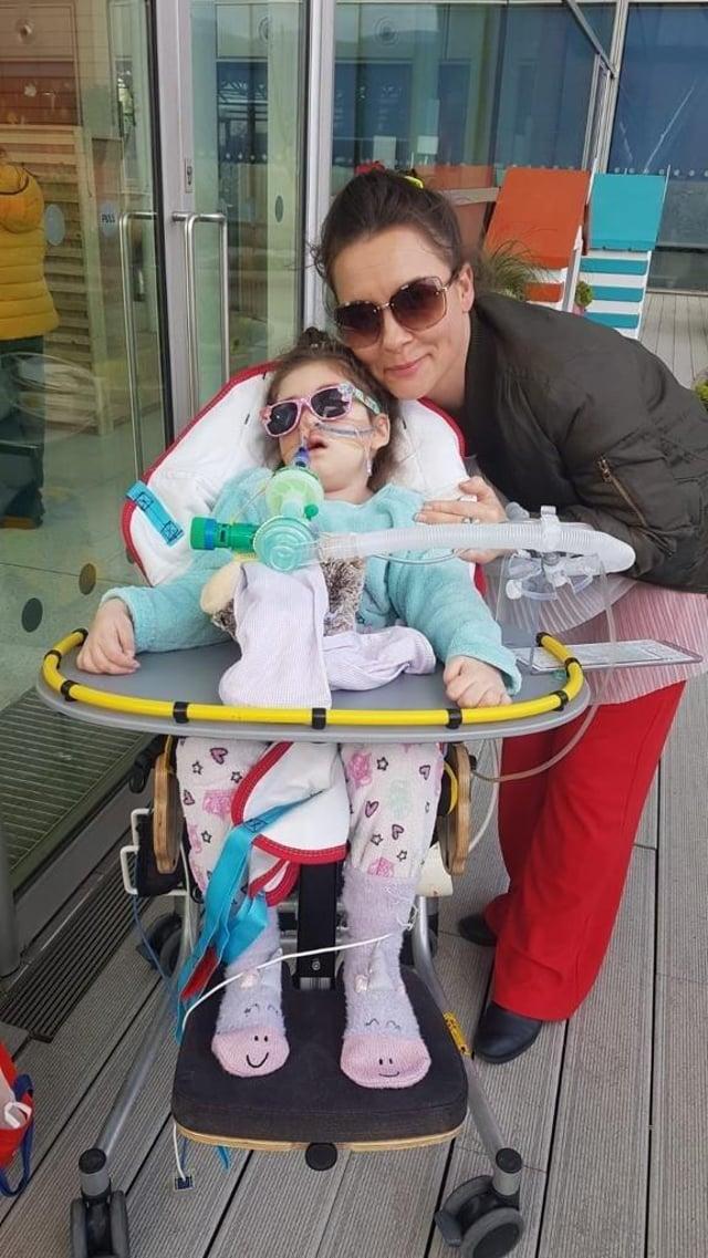 Paula Parfitt and daughter, Pippa Knight.