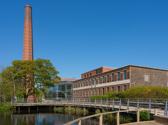 Council headquarters at Mossley Mill.