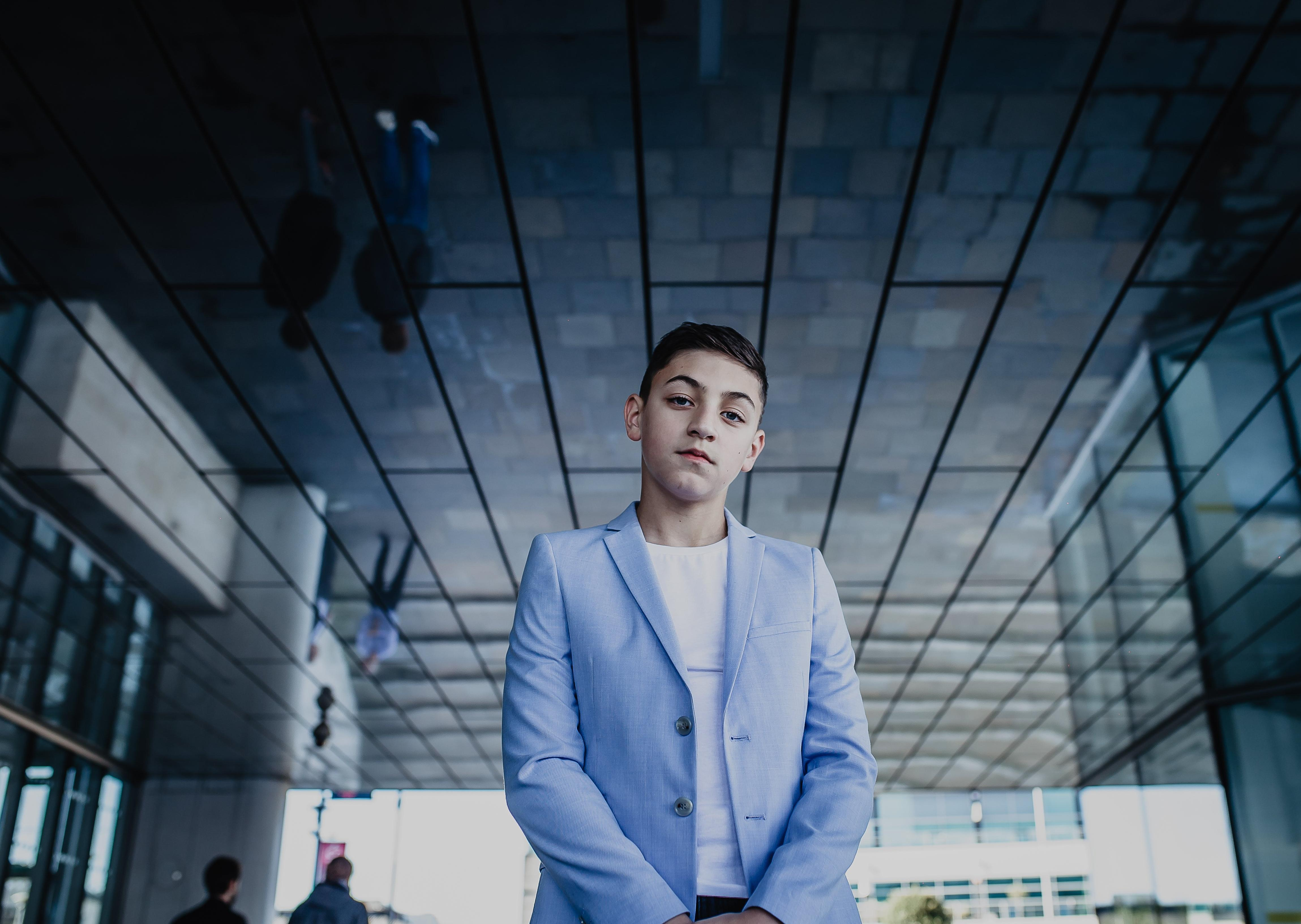 Conor Marcus , 14 - year - old NI music star , announces new single
