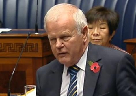 Pro-choice MLA Trevor Lunn: New abortion rules 'grotesque', 'immoral' and 'not humane'