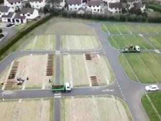 Coronavirus: Grim drone footage of NI COVID-19 graves emerges as UK records deadliest 24 hours so far