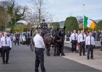 Questions asked about 'social distancing' after crowds attend funeral of republican Francie McNally