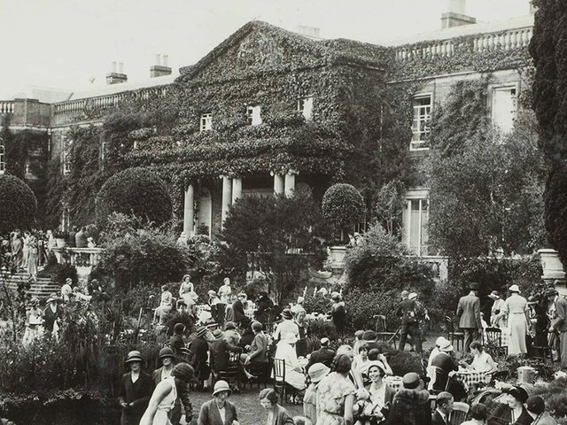 Garden Party at Mount Stewart in 1933. Picture: National Trust NI