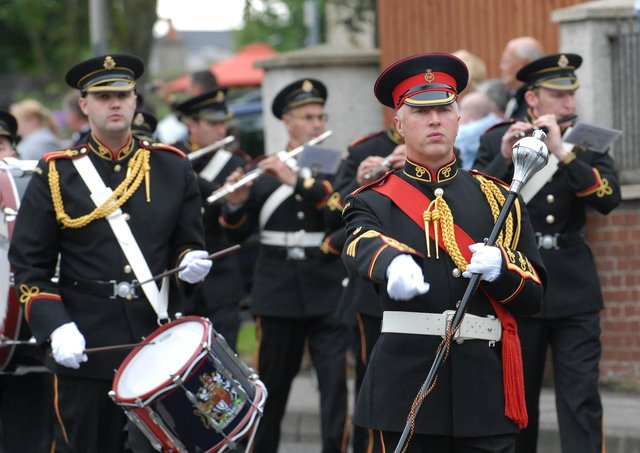 The Boveva Flute Band pictured during a previous parade in Limavady.