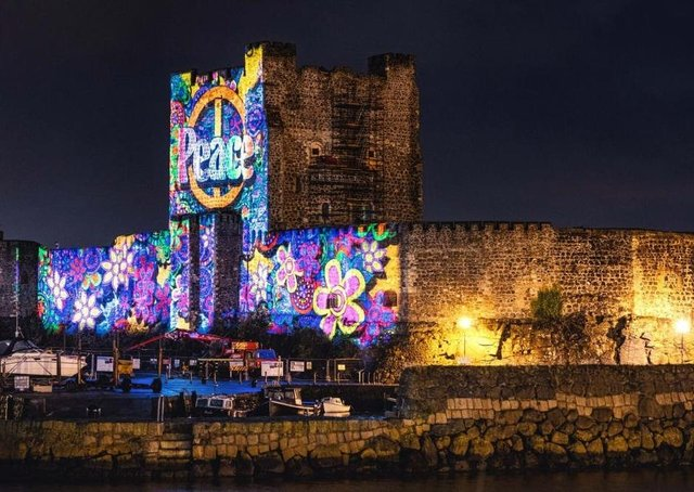 The Centenary Lumiere event will be held at Carrickfergus Castle on October 30