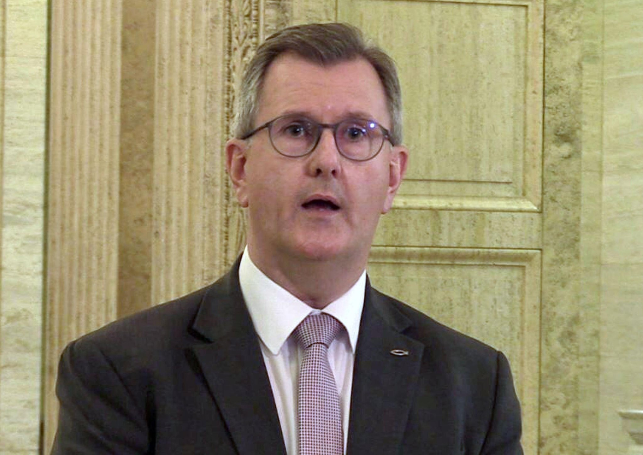 'Sinn Fein determined to start culture war with unionism': Sir Jeffrey Donaldson