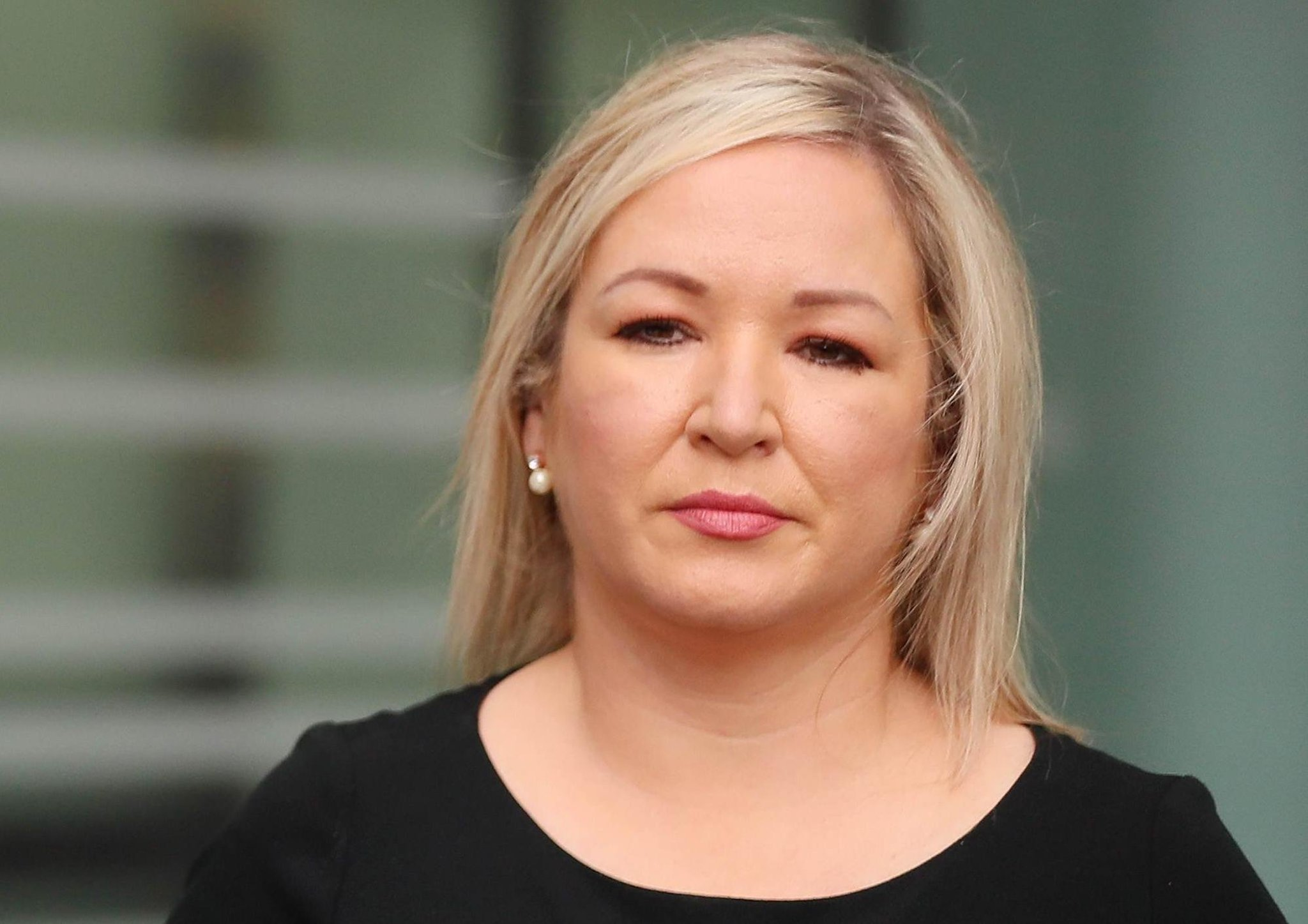 Michelle O'Neill: I removed uninvited person from my home