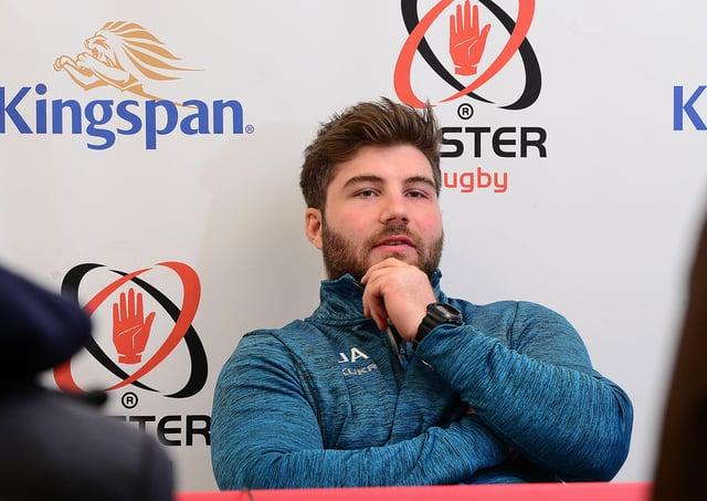 Ulster's Eric O'Sullivan.