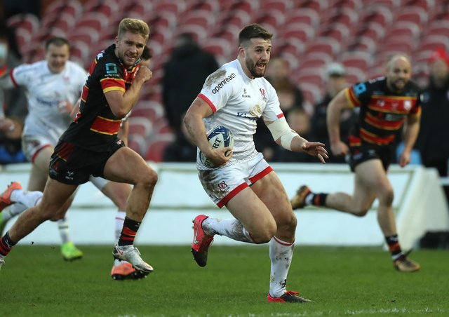 Ulster centre Stuart McCloskey. (Photo by David Rogers/Getty Images)