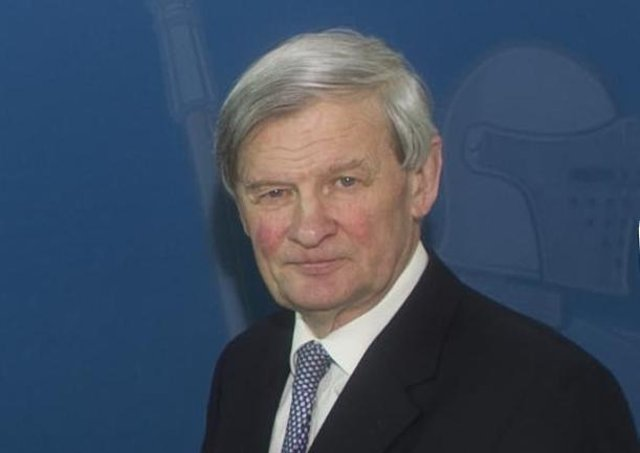 Her Majesty's Lord-Lieutenant of County Antrim David McCorkell KStJ.