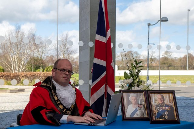 The Mayor, Cllr JIm Montgomery, has opened an online book of condolence following the death of the Duke of Edinburgh.
