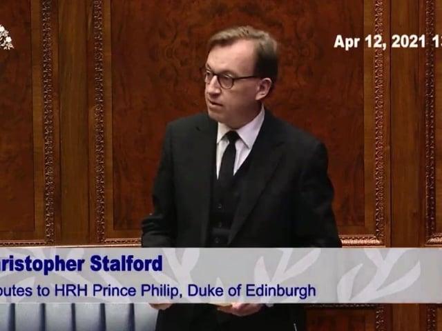 DUP MLA, Christopher Stalford.