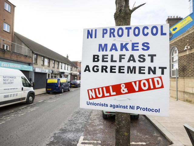 The NI Protocol means certain regulations from the European Union still apply here  but not in other parts of the United Kingdom.