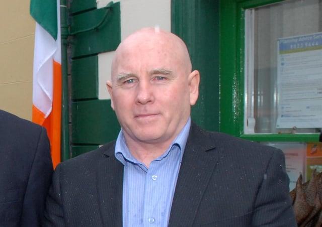 Mid and East Antrim Sinn Fein councillor James McKeown