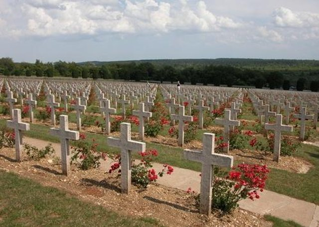 First World War memorials at Verdun