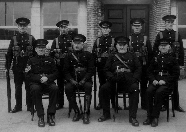 Members of Ulster Special Constabulary