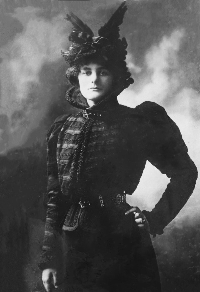 Irish patriot Maude Gonne