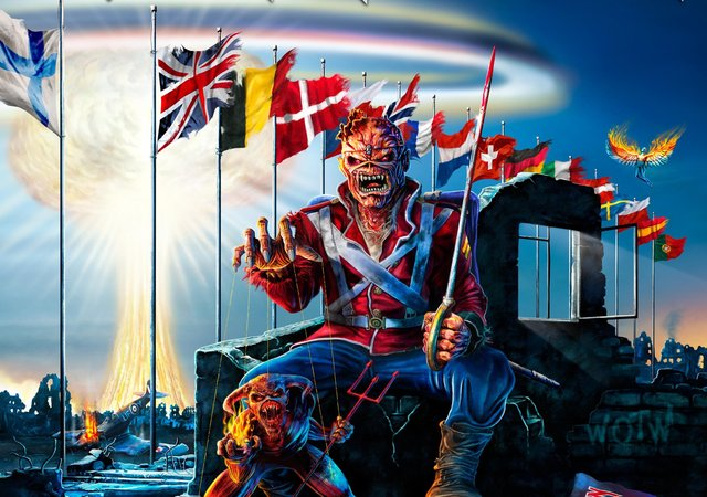 Iron Maiden have rescheduled their Belsonic appearance for June 2022