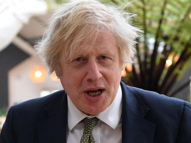 Prime Minister, Boris Johnson.