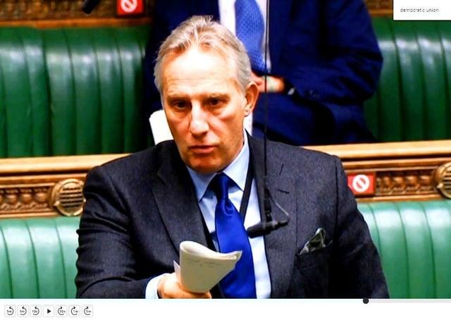 Ian Paisley MP