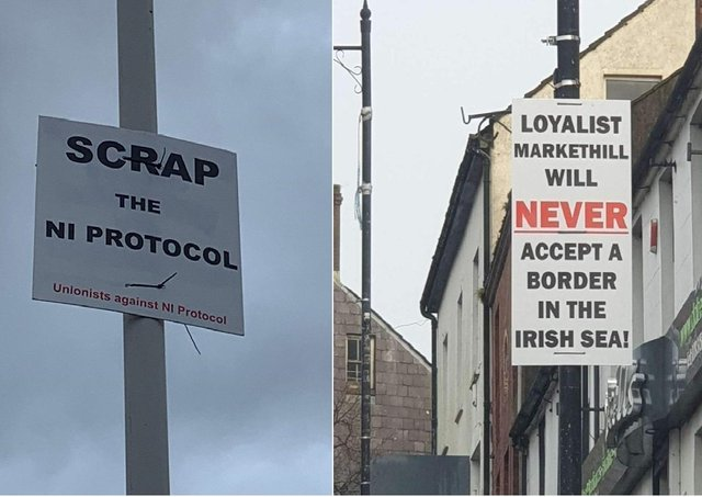 The UUU claimed to have been behind many anti-Irish Sea border posters