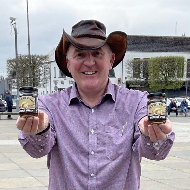 <p>Alastair Bell of export success Irish Black Butter in Portrush</p>