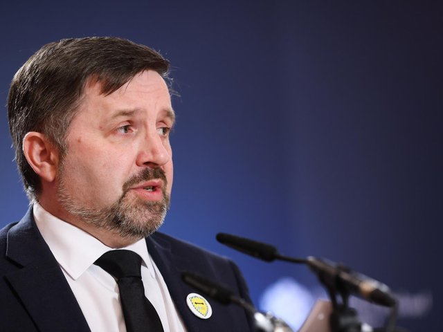 Health Minister, Robin Swann.