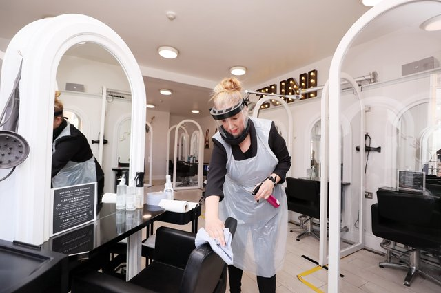 Hairdressers will be able to open from April 23