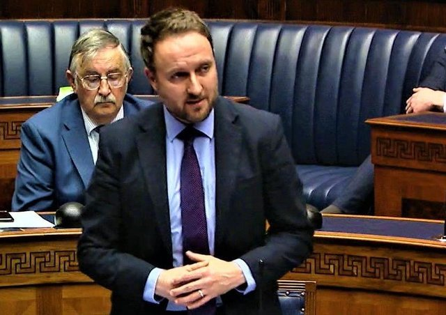 Chris Lyttle in the Assembly yesterday; what little information there was about wedding venues was brought to light thanks to his Assembly question