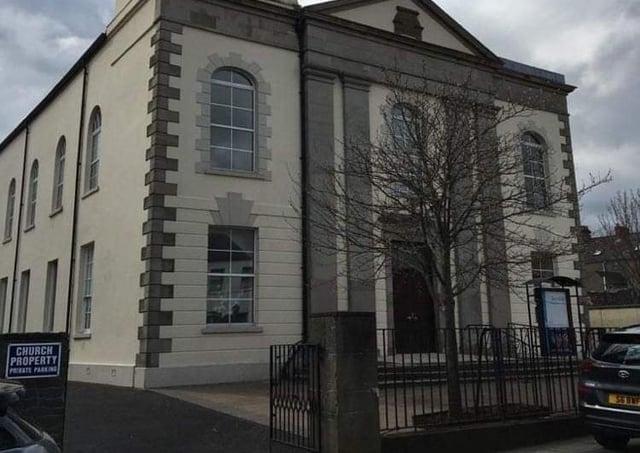 North Street Presbyterian Church in Carrickfergus. Picture: Darren Murphy