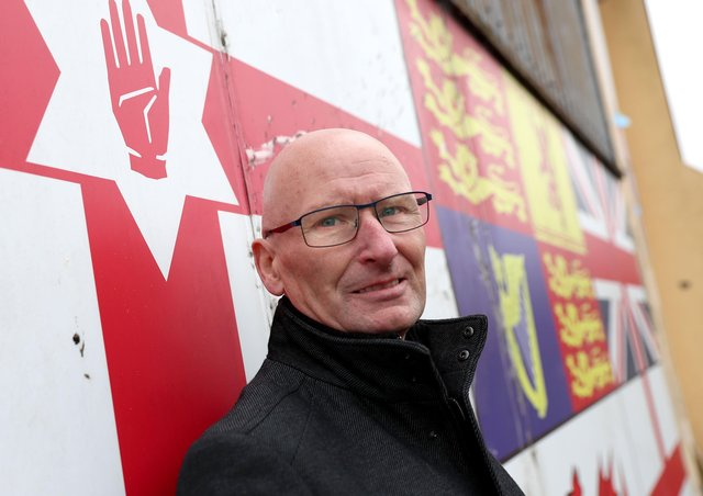 PUP leader Billy Hutchinson is urging people to think twice about who is organising protests they are going to attend.