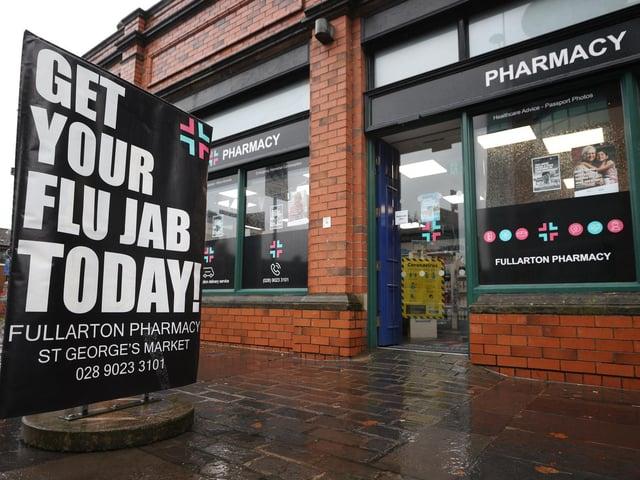 Fullarton Pharmacy in Belfast.
