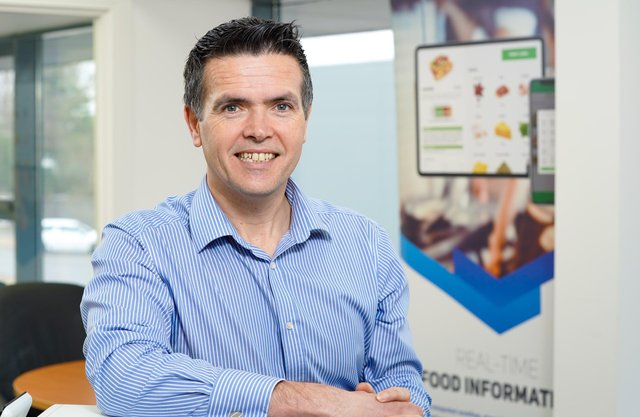 John Melarkey, chief revenue officer at Bluedot Technologies in Cookstown which has developed a leading-edge digital solution for new food safety rules