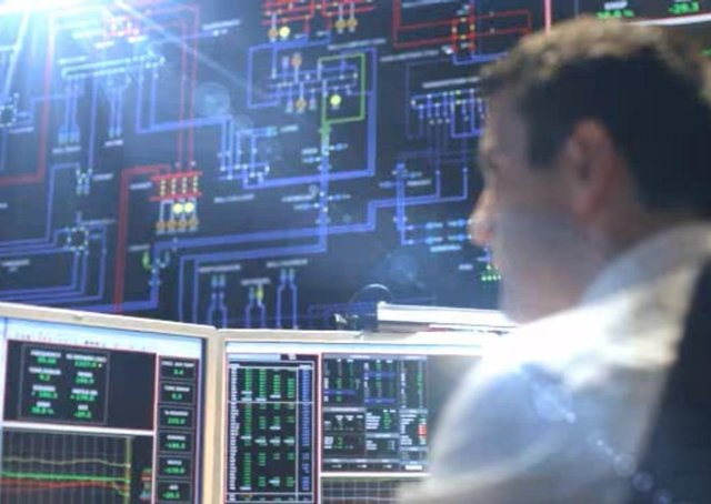 This image from the SONI television advert shows some of the control room which controls Northern Ireland's electricity grid