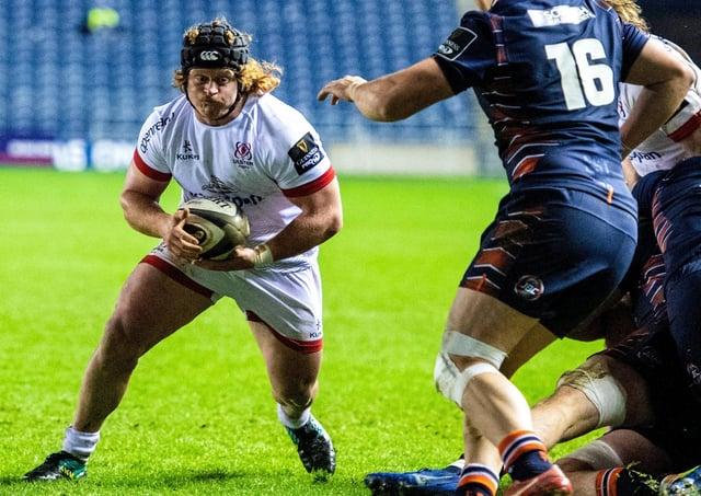 Ulster's Brad Roberts.