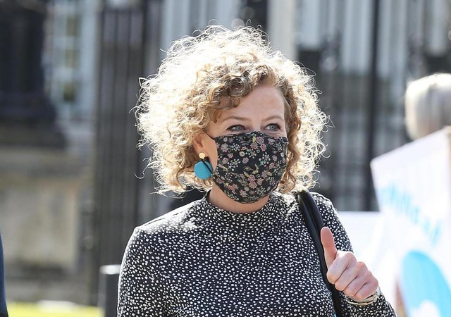Fiona Donohoe arrives at court