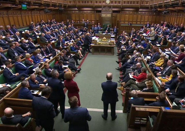 The protocol was agreed by Boris Johnson ultimately endorsed by a large, cross-party majority in the House of Commons in October 2019, above