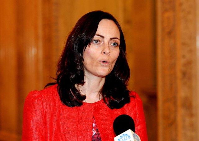 """Nichola Mallon MLA said: """"This bypass will reduce traffic in the centre of Ballynahinch and improve journey time reliability and safety on the A24 Belfast to Newcastle Road.""""  Photo Colm Lenaghan/Pacemaker Press"""