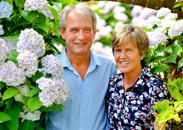 Rose and Owen Paterson in happier times