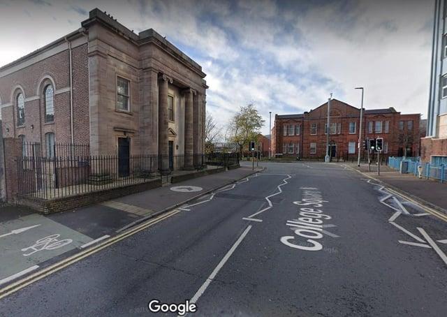College Square North in Belfast. Picture: Google