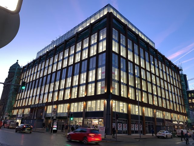 PwC's new offices at Merchant Square  - TUFZMTMwMjM1OTQ4 - Wellbeing space takes centre stage for PwC's new office