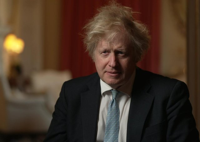 Boris Johnson admitted to Mark Devenport that he always knew there would be checks between GB and NI
