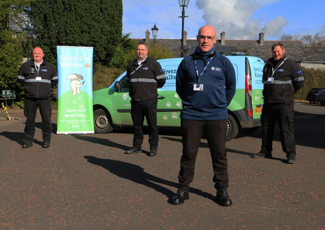 A litter enforcement company has been employed in Mid and East Antrim.